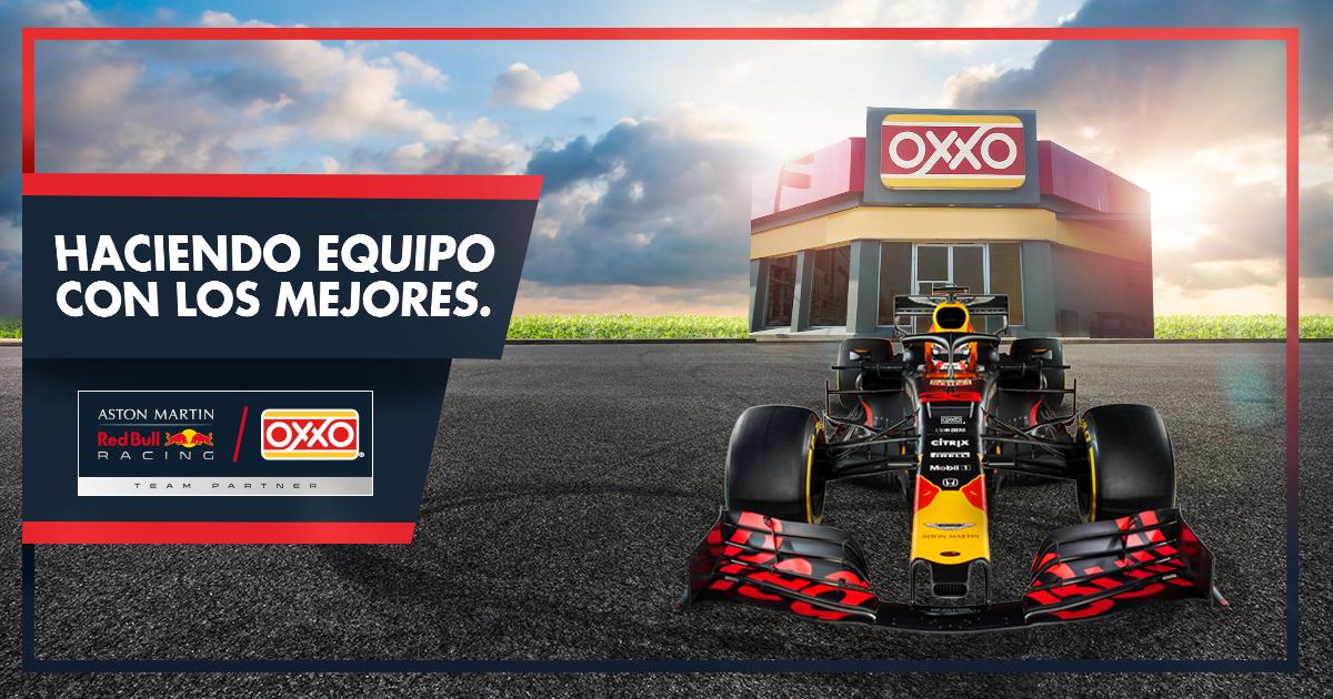 oxxo red bull patrocinios gran premio mexico